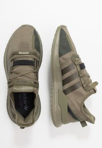 adidas Originals - U_PATH RUN RUNNING-STYLE SHOES - Sneakersy niskie - raw khaki/core black - 1