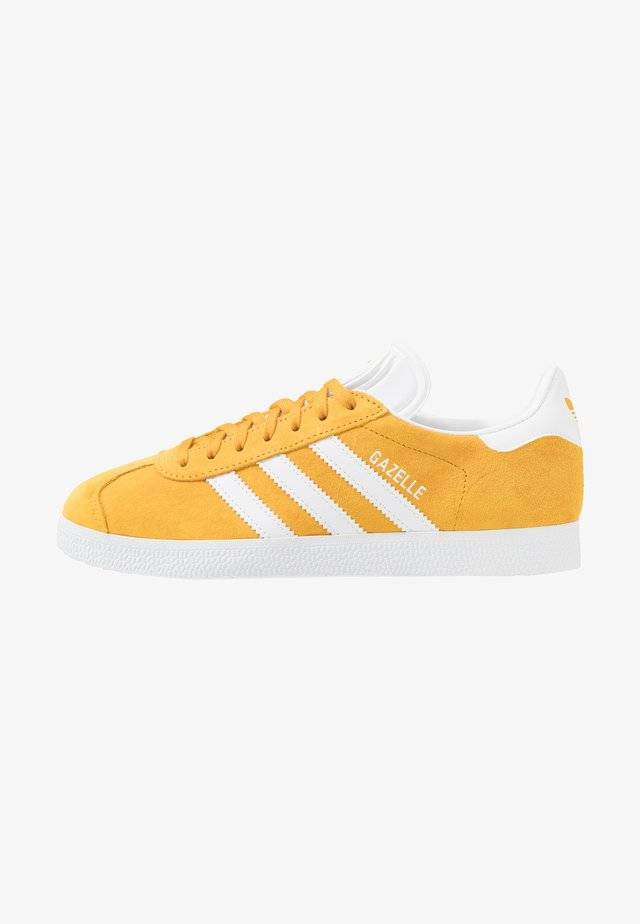 GAZELLE - Trainers - active gold/footwear white