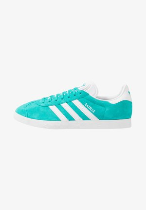 GAZELLE - Sneaker low - hi-res aqua/footwear white