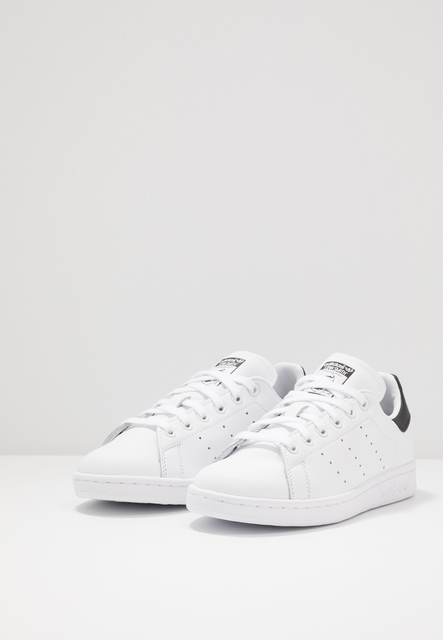 Adidas Originals Stan Smith Neon Heel Shoes - Sneakers Basse Footwear White/core Black 08X1GAz