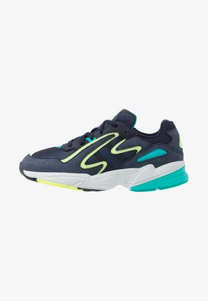 YUNG-96 CHASM TORSION SYSTEM RUNNING-STYLE - Sneaker low - legend ink/collegiate navy/hi res aqua