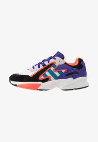 adidas Originals - YUNG-96 CHASM - Sneakers - crystal white/active teal/energy ink - 0