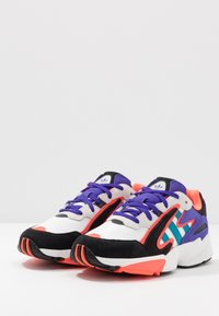 adidas Originals - YUNG-96 CHASM - Sneakers - crystal white/active teal/energy ink - 2