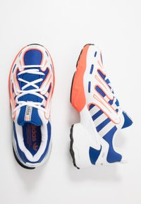 adidas Originals - EQT GAZELLE RUNNING-STYLE SHOES - Matalavartiset tennarit - power blue/grey one/solar red
