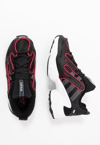 adidas Originals - EQT GAZELLE RUNNING-STYLE SHOES - Trainers - core black/grey six/energie pink - 2
