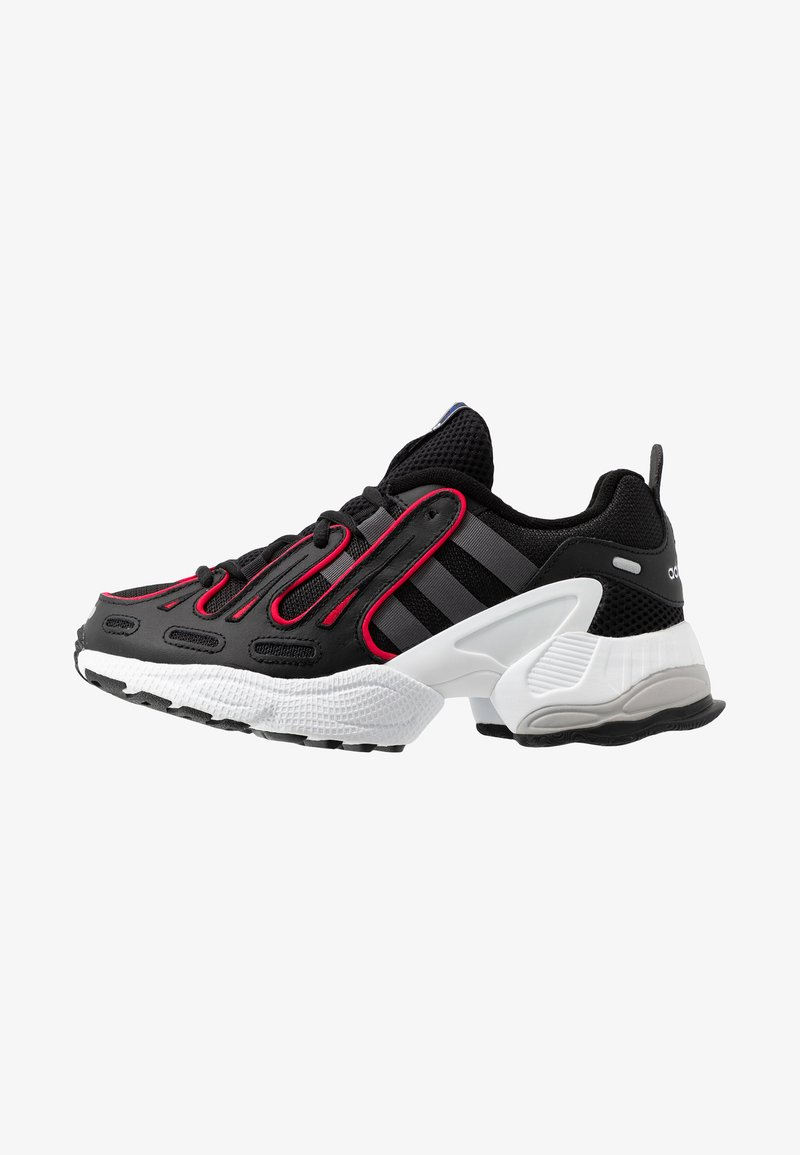 adidas Originals - EQT GAZELLE - Baskets basses - core black/grey six/energie pink