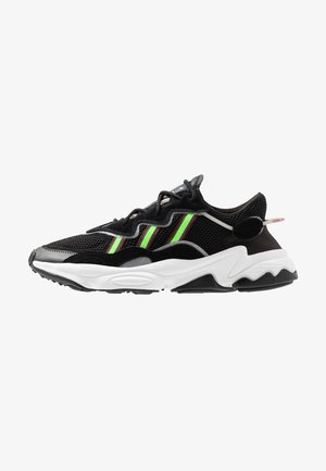 OZWEEGO ADIPRENE+ RUNNING-STYLE SHOES - Sneaker low - core black/solar green/onix