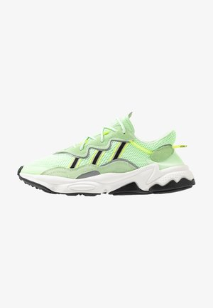 OZWEEGO ADIPRENE+ RUNNING-STYLE SHOES - Sneaker low - glow green/core black/solar yellow