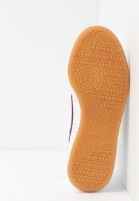 adidas Originals - CONTINENTAL 80 STRAP - Zapatillas - footwear white/clear green/scarlet - 4