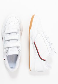 adidas Originals - CONTINENTAL 80 STRAP - Trainers - footwear white/clear green/scarlet - 1