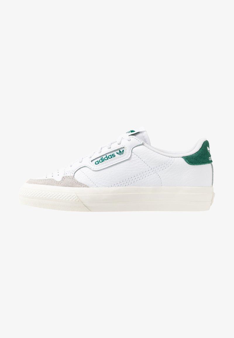 adidas Originals - CONTINENTAL - Sneaker low - footwear white/collegiate green
