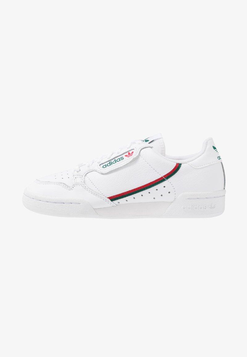 adidas Originals - CONTINENTAL 80 - Sneakers laag - footwear white/collegiate green/scarlet