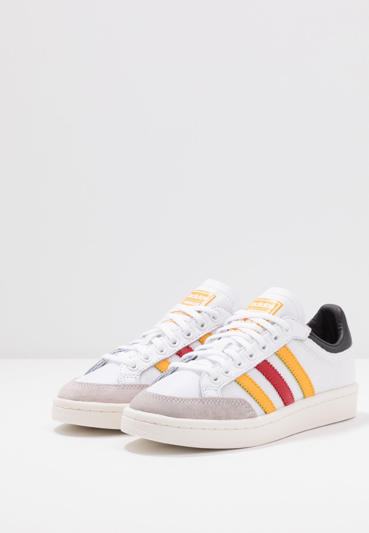 Adidas Originals Americana - Sneaker Low Footware White/active Gold/scarlet Black Friday