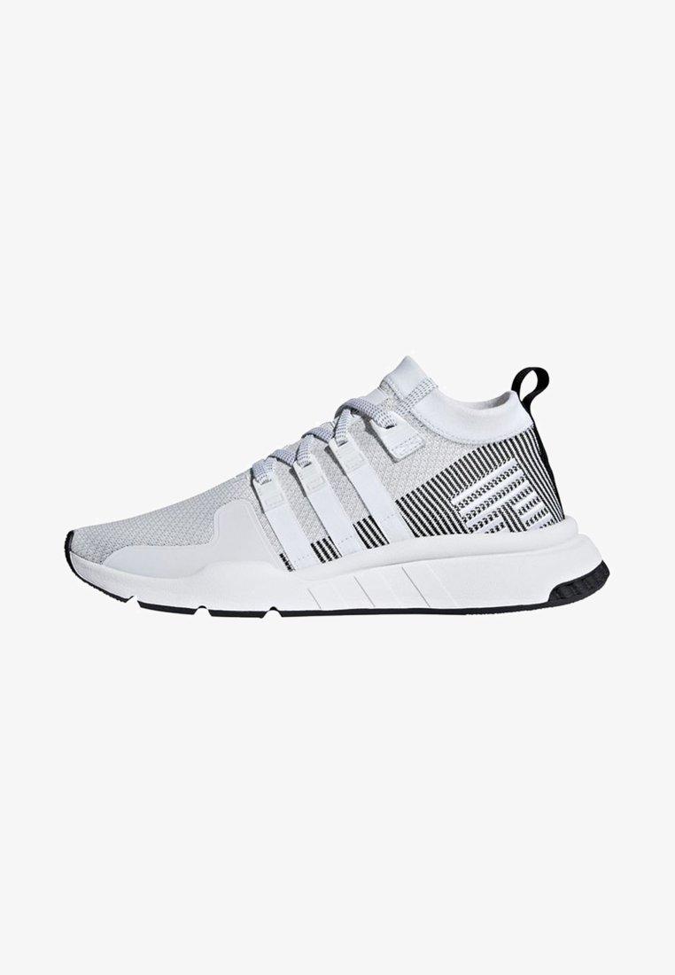 adidas Originals - EQT SUPPORT MID ADV PRIMEKNIT SHOES - Sneakers alte - white