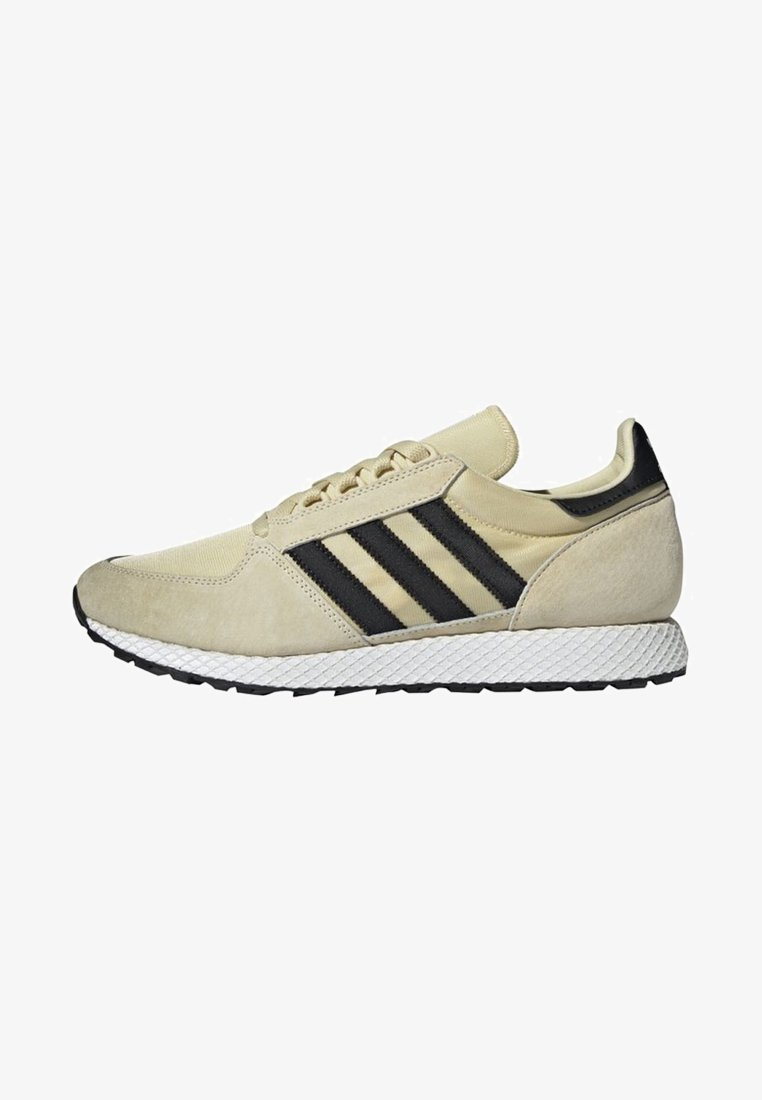 adidas Originals - FOREST GROVE SHOES - Sneakers laag - yellow