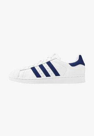 SUPERSTAR - Sneakersy niskie - footwear white/glow blue