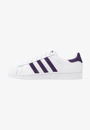 SUPERSTAR - Baskets basses - footwear white/legend purple