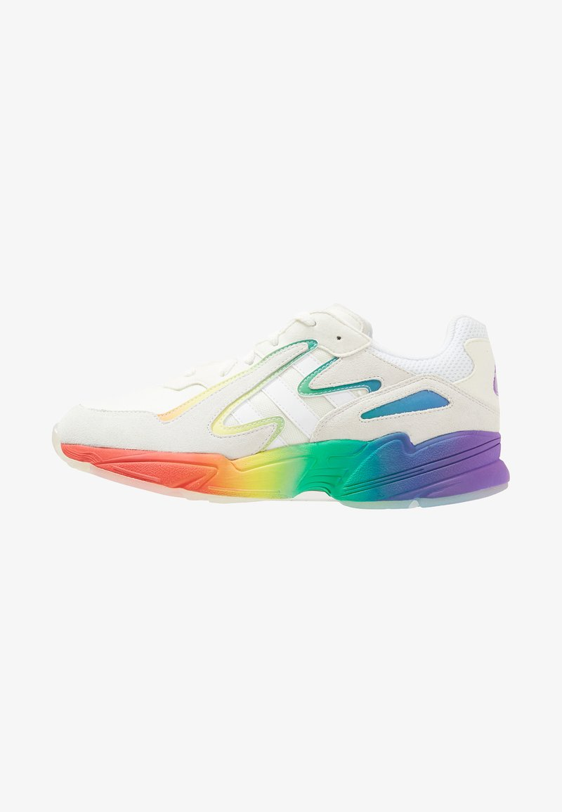 adidas Originals - YUNG-96 CHASM - Trainers - white/multi-coloured