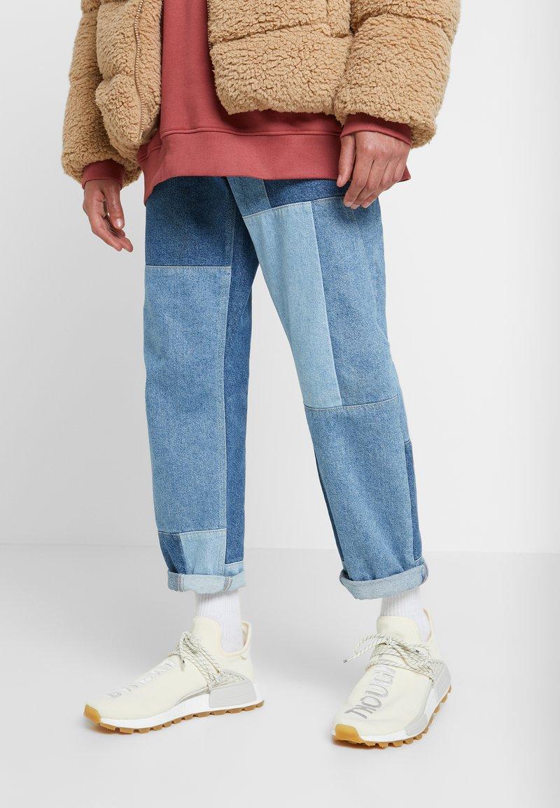 adidas Originals - PHARRELL WILLIAMS HU NMD PRD - Sneaker low - white/raw white