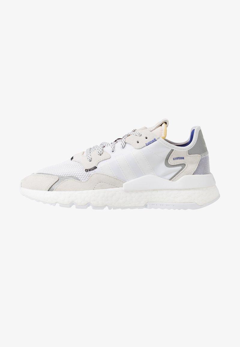 adidas Originals - NITE JOGGER - Sneakers laag - footwear white