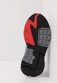adidas Originals - NITE JOGGER - Sneakers basse - grey three/footwear white - 4