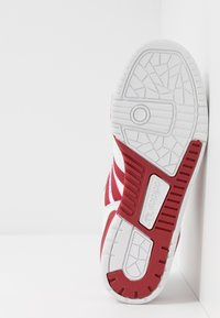adidas Originals - RIVALRY - Trainers - footwear white/active maroon