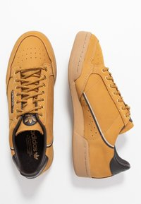 adidas Originals - CONTINENTAL 80 - Sneakers - mesa/night brown/equipment yellow - 1