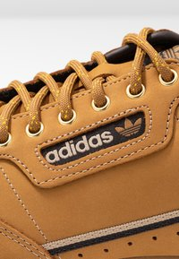 adidas Originals - CONTINENTAL 80 - Sneakers - mesa/night brown/equipment yellow - 5