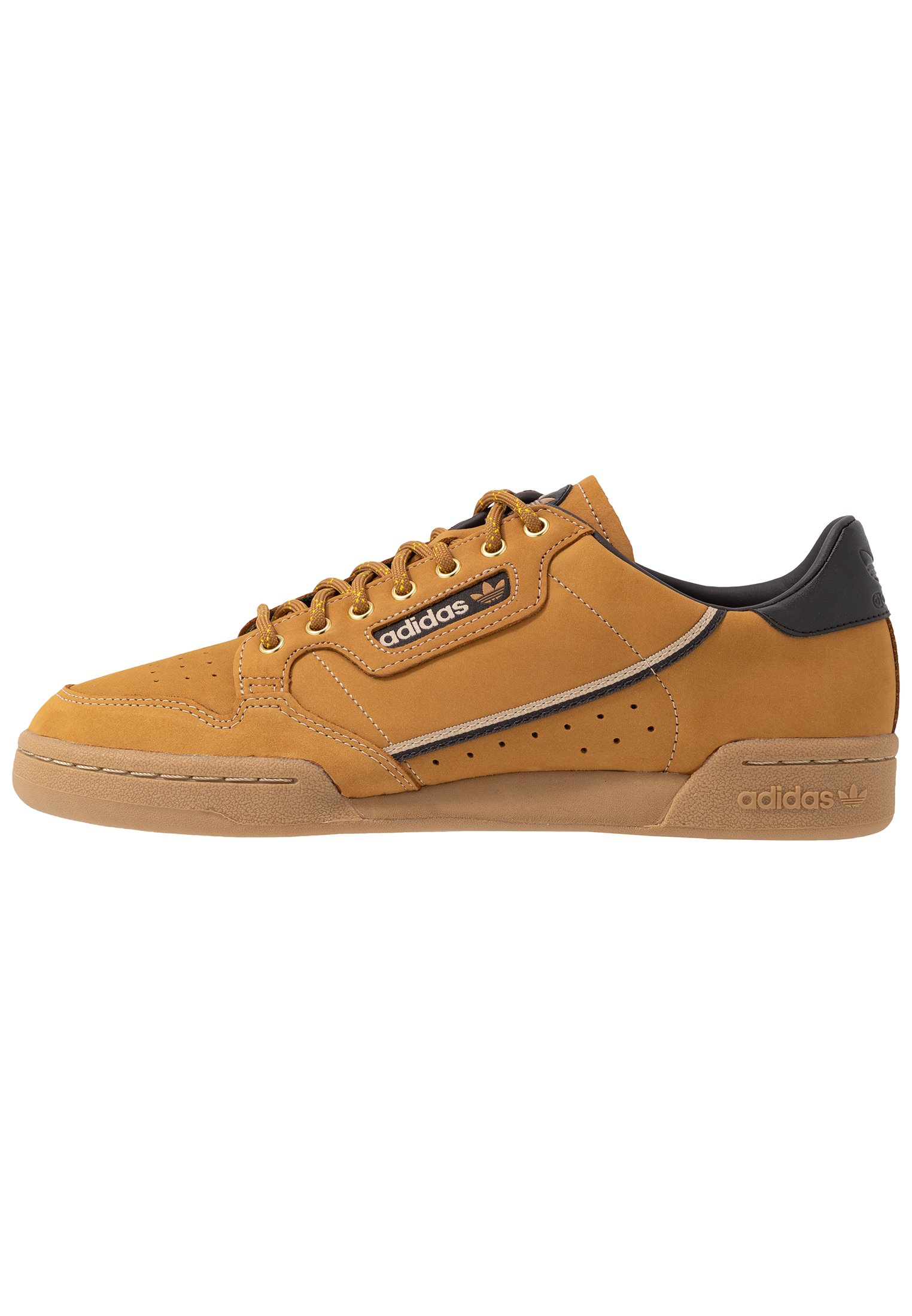 CONTINENTAL 80 - Sneakers laag - mesa/night brown/equipment yellow