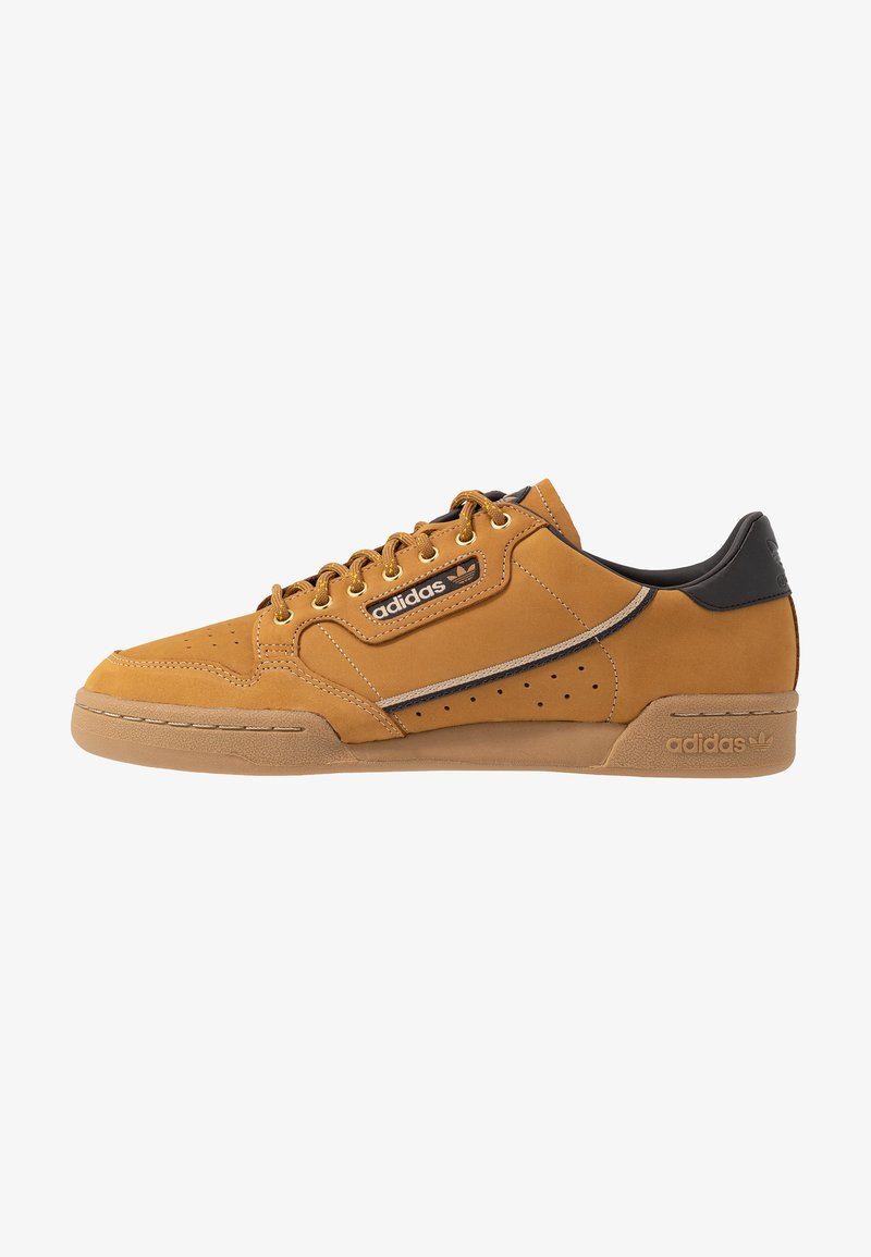 adidas Originals - CONTINENTAL 80 - Sneakers - mesa/night brown/equipment yellow