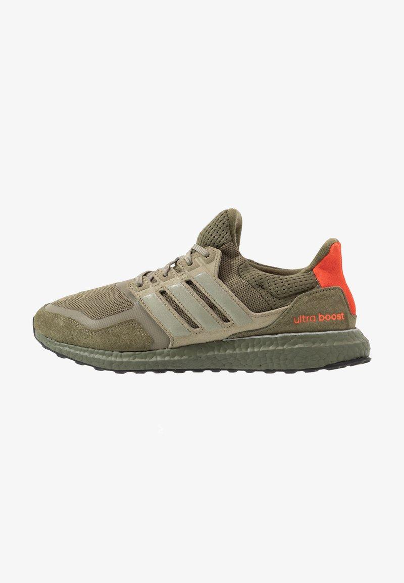 adidas Originals - ULTRABOOST S&L - Sneakersy niskie - raw khaki/trace cargo/solar red