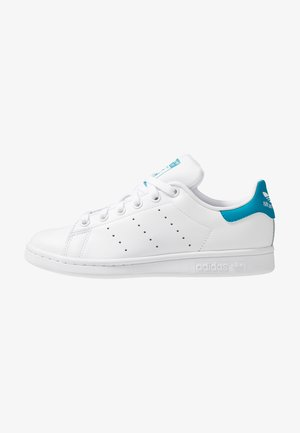STAN SMITH STREETWEAR-STYLE SHOES - Sneaker low - footwear white/active teal