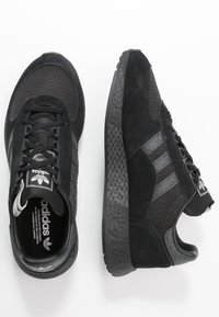 adidas Originals - MARATHON TECH - Trainers - core black/dough solid grey/silver metallic