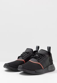 adidas Originals - NMD_R1 - Sneaker low - core black/solar red