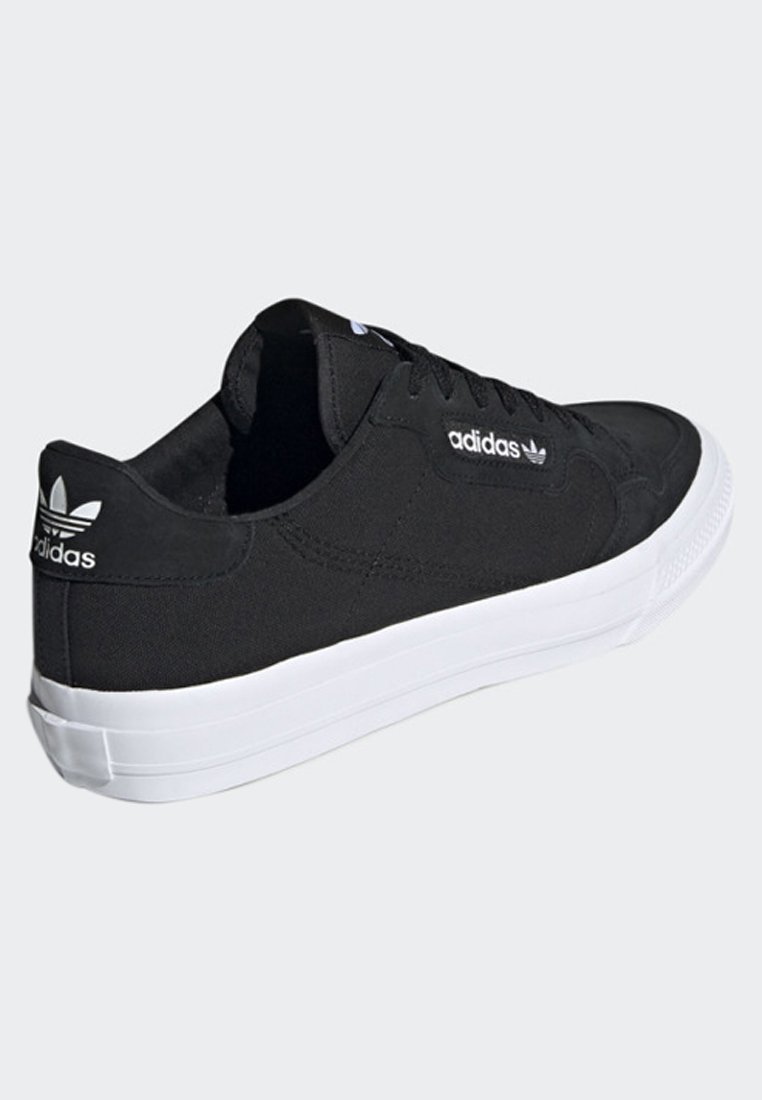VULC adidas black SHOESBaskets CONTINENTAL Originals basses ChdtrsQx