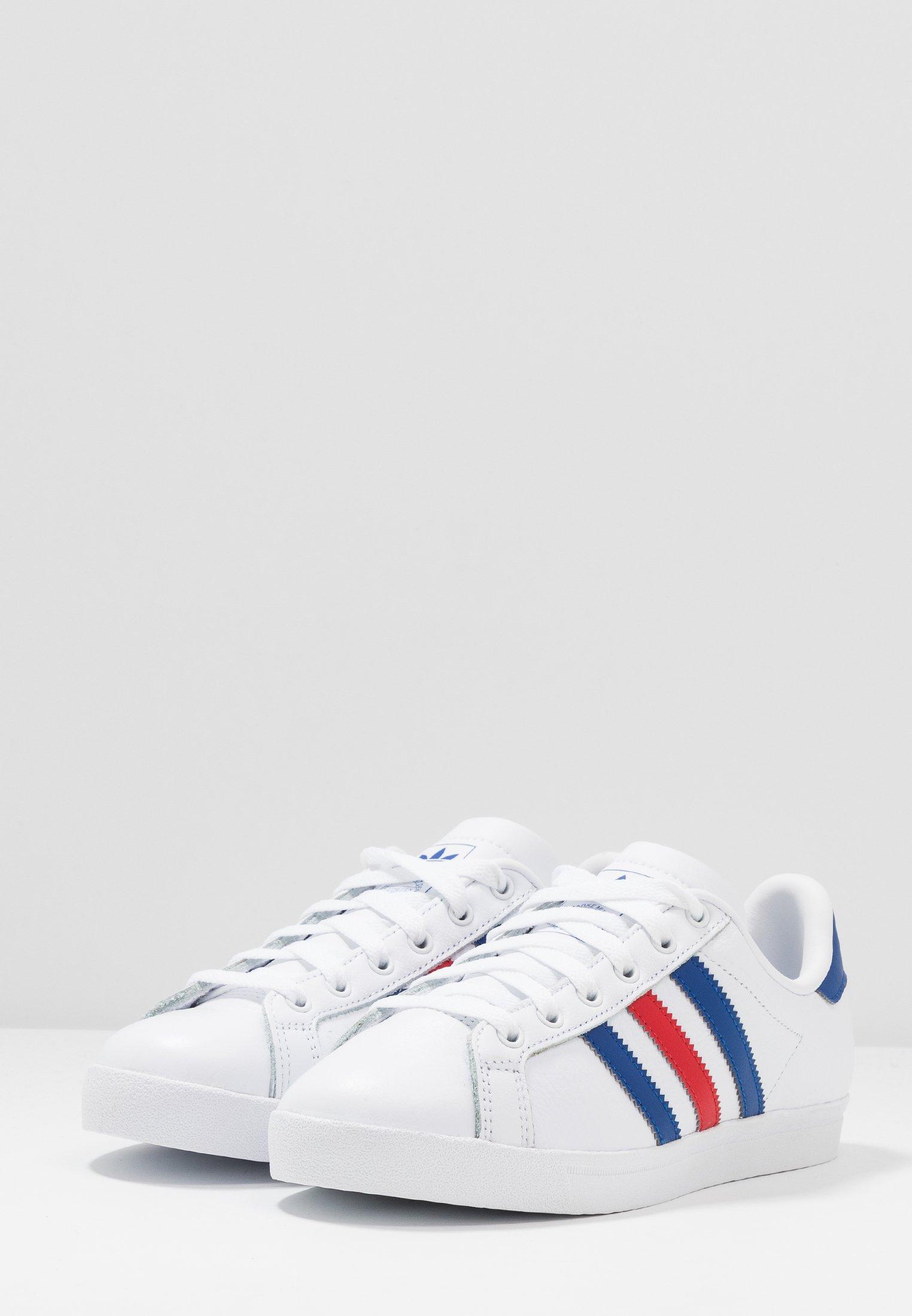 adidas Originals COAST STAR - Baskets basses footwear white/collegiate royal/scarlet