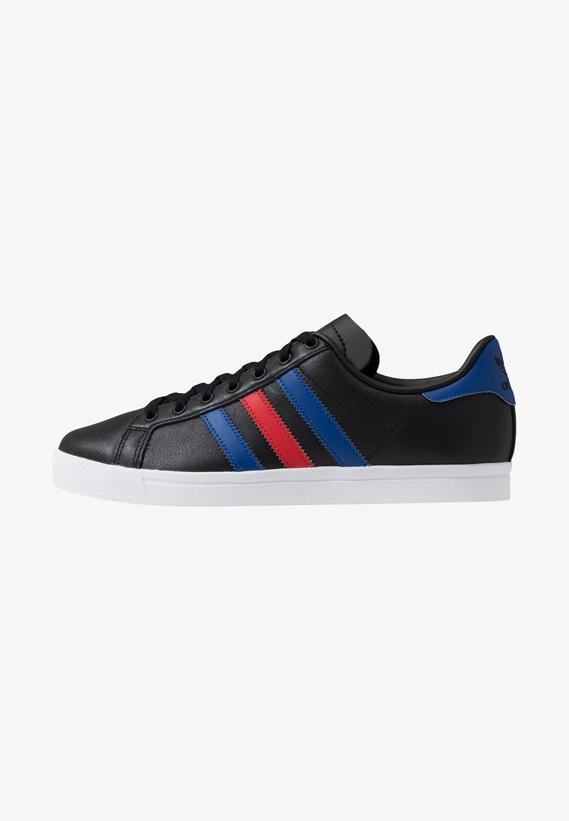 adidas Originals - COAST STAR - Sneaker low - core black/collegiate royal/scarlet