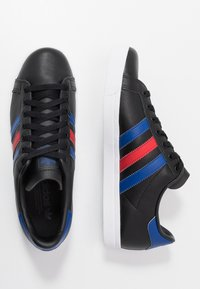 adidas Originals - COAST STAR - Sneaker low - core black/collegiate royal/scarlet - 1