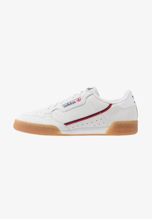 CONTINENTAL 80 - Matalavartiset tennarit - crystal white/collegiate navy/scarlet