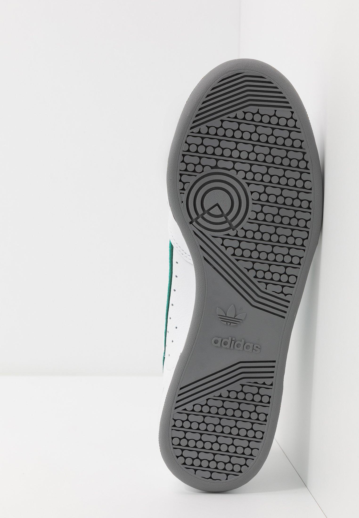 Adidas Originals Continental - Sneakers Footware White/collegiate Green/core Green