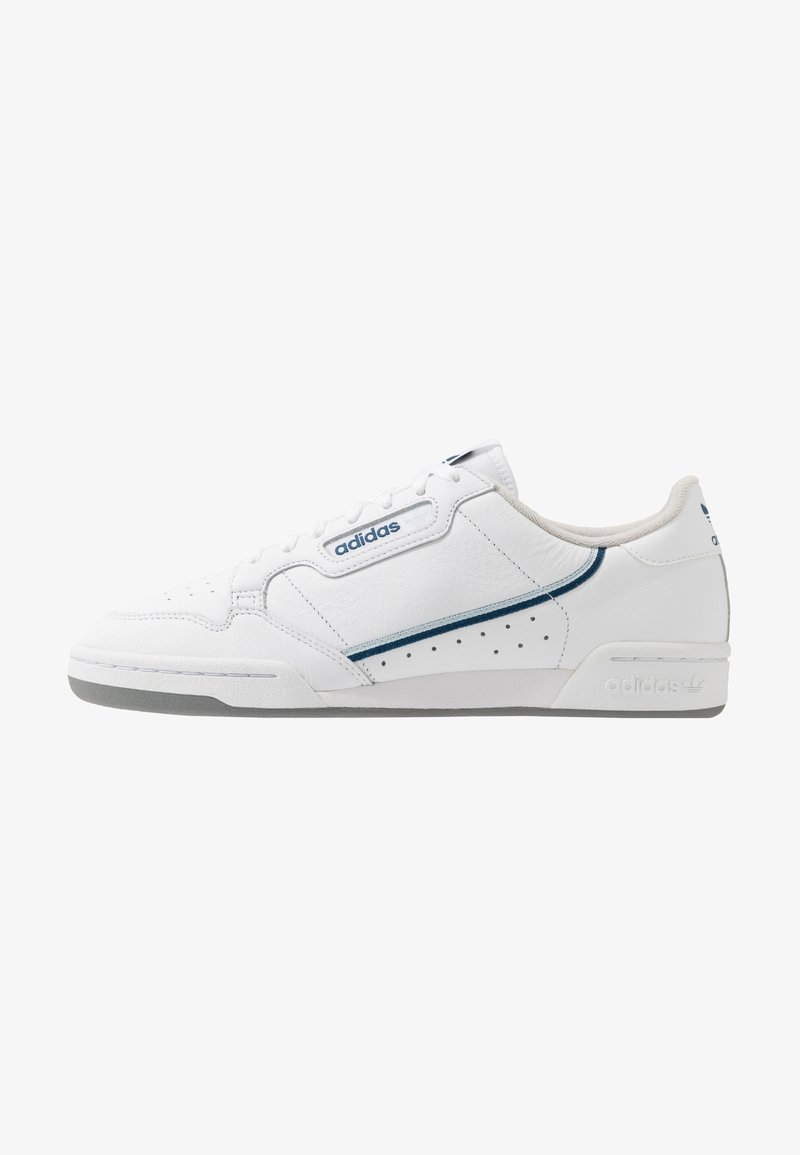 adidas Originals - CONTINENTAL - Matalavartiset tennarit - footware white/sky tint/legend marine