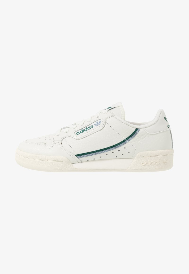 adidas Originals - CONTINENTAL 80 - Sneakers laag - white tint/offwhite/collegiate green