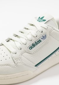 adidas Originals - CONTINENTAL 80 - Sneakers laag - white tint/offwhite/collegiate green - 5