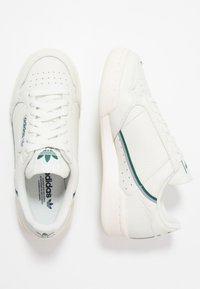 adidas Originals - CONTINENTAL 80 - Sneakers laag - white tint/offwhite/collegiate green - 1