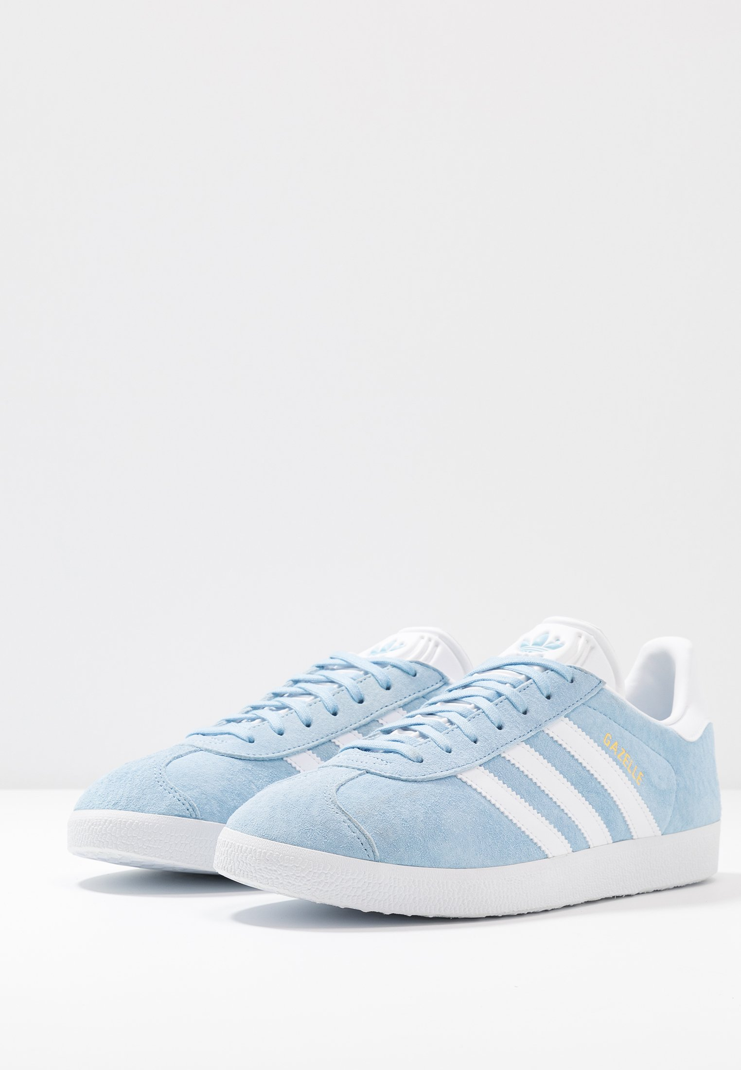 Adidas Originals Gazelle - Zapatillas Clear Sky/footwear White/gold Metallic