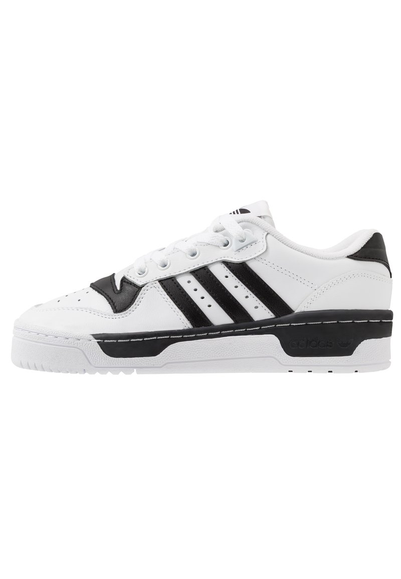 adidas Originals - RIVALRY  - Matalavartiset tennarit - footwear white/core black