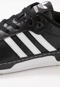 adidas Originals - RIVALRY  - Sneaker low - core black/footwear white - 5