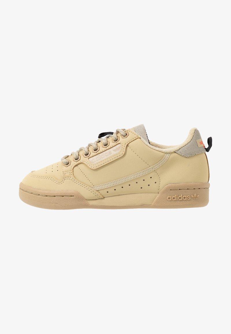 adidas Originals - CONTINENTAL 80 - Sneakers - savanne/solar red