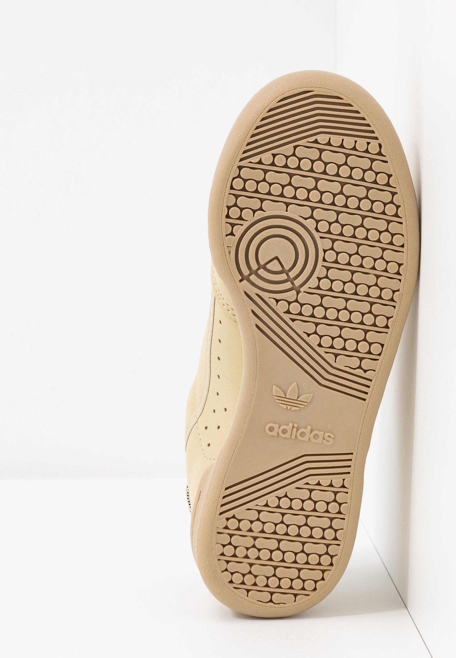 adidas Originals CONTINENTAL 80 - Baskets basses savanne/solar red