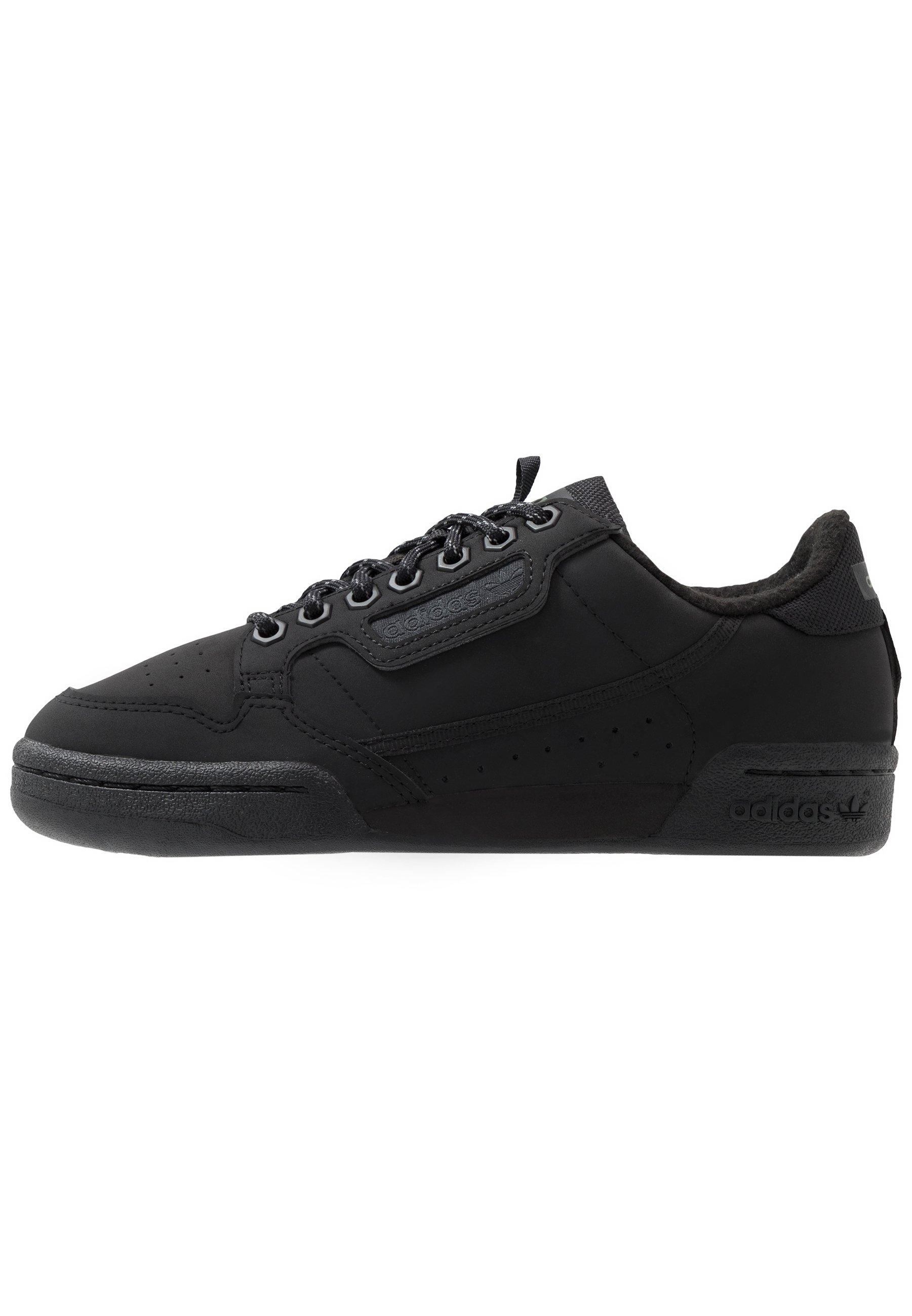 adidas Originals CONTINENTAL 80 - Sneakers - core black/trace green